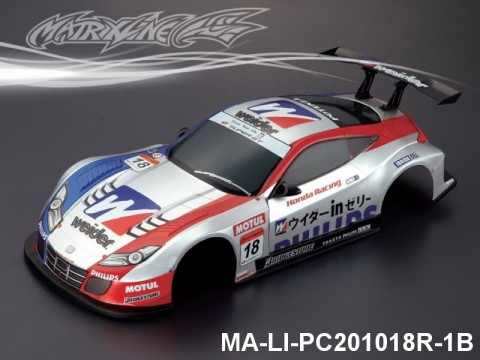 342 HONDA HSV Finished PC Body RTR MA-LI-PC201018R-1B Painted