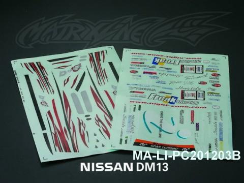 107 D-MAX Diversion ADVAN ONE-VIA DECAL SHEET - High Flexible Vinyl Label (Hot Sale) MA-LI-PC201203B