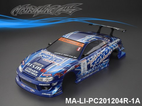 348 NISSAN GP SPORTS S15 SILVIA Finished PC Body RTR MA-LI-PC201204R-1A Painted