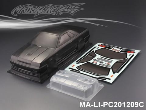 423 NISSAN SKYLINE GTS-R CARBON-PRINTING PC Body SHELL MA-LI-PC201209C Transparent