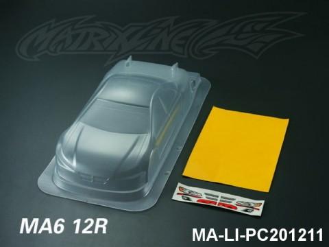 426 MA612R PC Body SHELL MA-LI-PC201211 Transparent