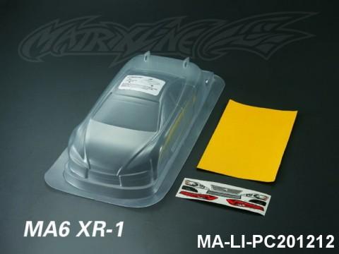 427 MA6 XR-1 PC Body SHELL MA-LI-PC201212 Transparent