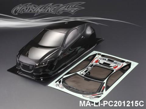 434 HONDA CR-Z CARBON-PRINTING PC Body SHELL MA-LI-PC201215C Transparent