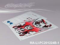 125 NISSAN S15 SP DECAL SHEET - High Flexible Vinyl Label (Hot Sale) MA-LI-PC201224B-1