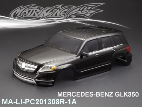 366 MERCEDESBENZ GLK350 Finished PC Body RTR MA-LI-PC201308R-1A Painted