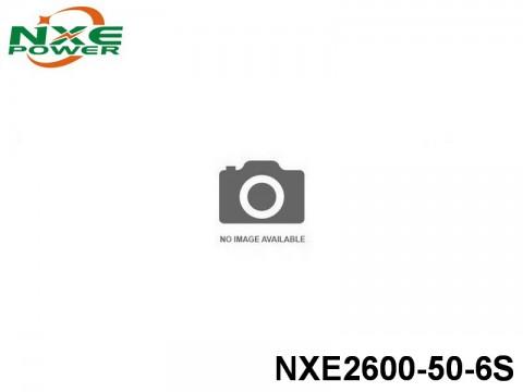 133 NXE2600-50-6S 2600mAh 22.2V