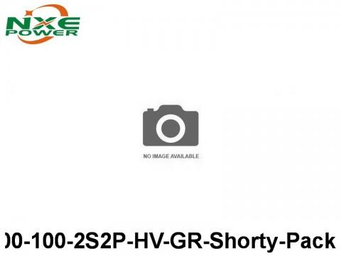 12 NXEC4400-100-2S2P-HV-GR-Shorty-Pack 4400mAh 7.6V