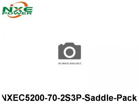 36 NXEC5200-70-2S3P-Saddle-Pack 5200mAh 7.4V