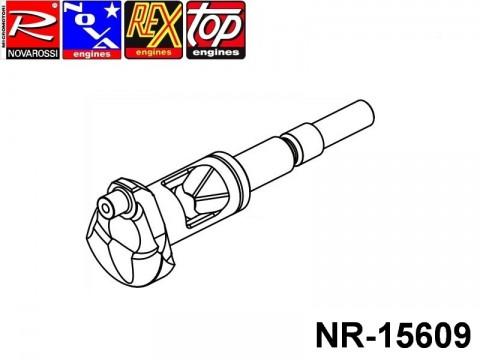 Novarossi NR-15609 SG Shaft 011,5mm On Road Long Stroke