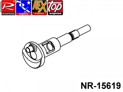 Novarossi NR-15619 SPT Efra Shaft 2,1cc 011mm Long Stroke Pull Start-Roto Start