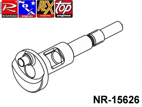 Novarossi NR-15626 SPT 2,5cc Shaft 011,5mm 14,25 Stroke RodStater for BK15SL engine