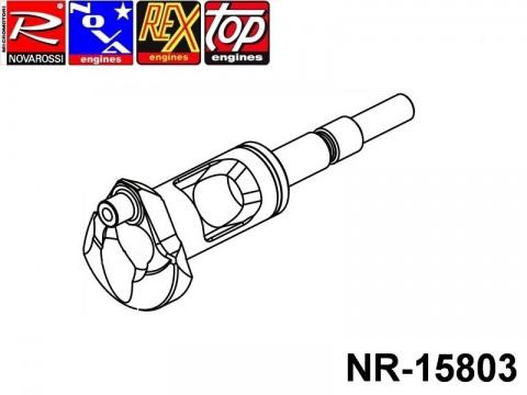 Novarossi NR-15803 Shaft 014mm Turbo 4,66cc SG starterbox