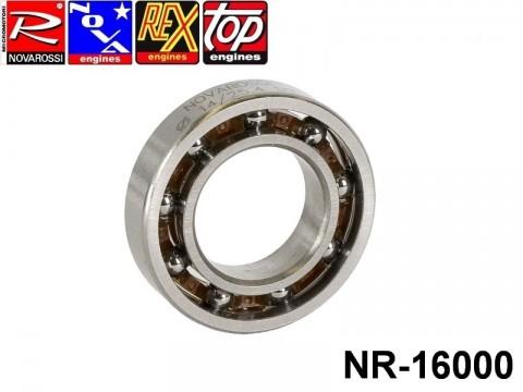 Novarossi NR-16000 Rear ball bushing 3,5cc 014x25,4x6mm - 9 steel balls