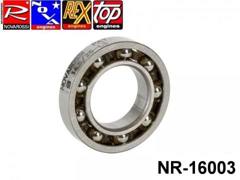 Novarossi NR-16003 Rear ball bushing 014,5x26x6mm - 9 steel balls