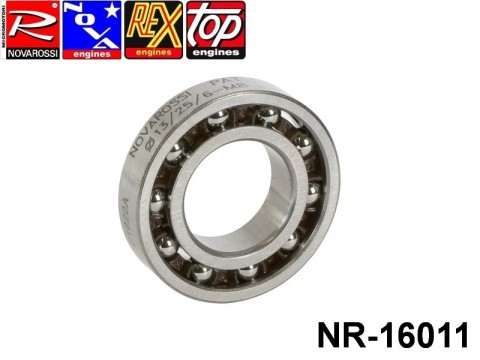 Novarossi NR-16011 Rear ball bushing 3,5cc 013x25x6mm - 10 steel balls