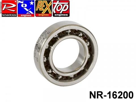 Novarossi NR-16200 Rear ball bushing 2,5cc square stroke 013x24x6mm - 11 steel balls