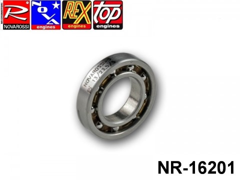 Novarossi NR-16201 Rear ball bushing 2,5cc square stroke 013x23,5x5mm - 9 steel balls