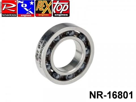 Novarossi NR-16801 Rear ball bushing 3,5-4,66cc 014x25,8x6mm - 9 ceramic balls