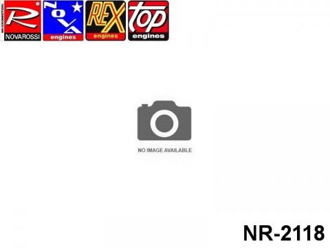 Novarossi NR-2118 Marine Fucsia Elliptic Cooling Head 3,5cc Ø49mm 4Screws Serigraph R