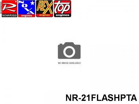 Novarossi NR-21FLASHPTA ENGINE ON ROAD FLASH PT STANDARD BEARING