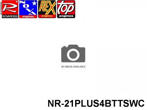Novarossi NR-21PLUS4BTTSWC ENGINE .21 BUGGY PLUS 4 BTTS FULL CERAMIC WORLD