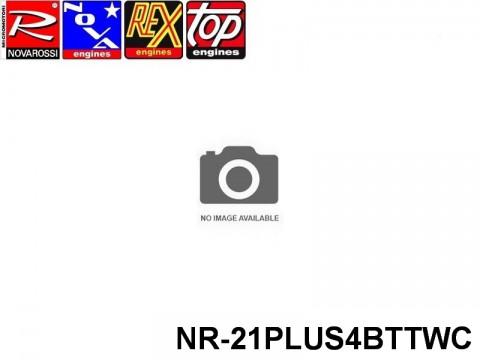 Novarossi NR-21PLUS4BTTWC ENGINE .21 BUGGY PLUS 4 BTT CERAMIC WORLD