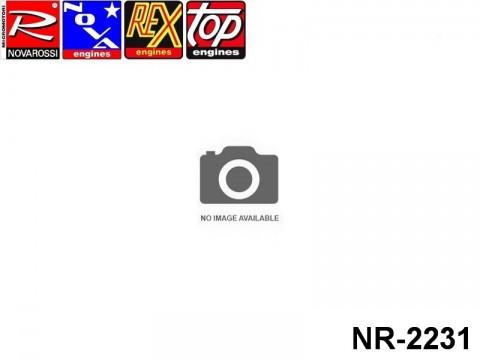 Novarossi NR-2231 On Road Fucsia Cooling Head 3,5cc Ø55 9Fins Serigraph R RACE B8