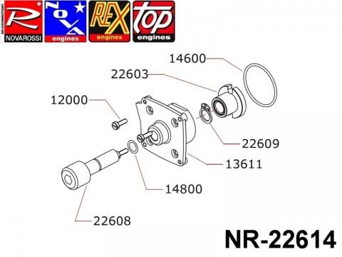 Novarossi NR-22614 2,5cc Starter Set