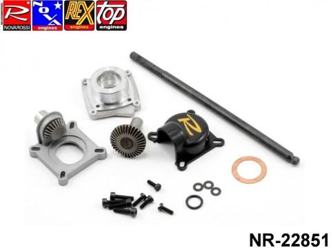 Novarossi NR-22851 Starter drive complete set 08 with starter rod