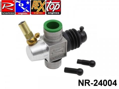 Novarossi NR-24004 Aluminium Carburettor 3,5cc Slide 09mm 1adiustment with reducer 08,5mm