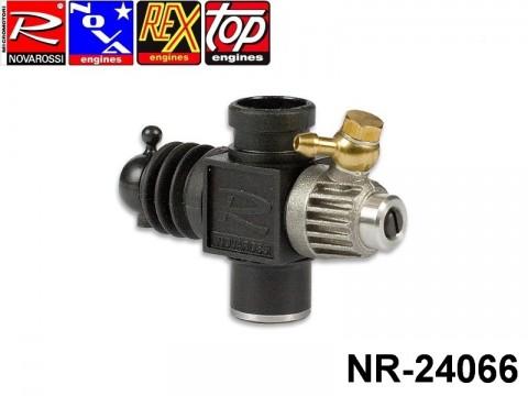Novarossi NR-24066 Plastic Carburettor 3,5cc 09mm 1Adiustment Reverse with Reducer 06mm