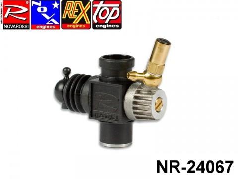 Novarossi NR-24067 Plastic Carburettor 3,5cc 09mm 2Adiustments Reverse with Reducer 06mm