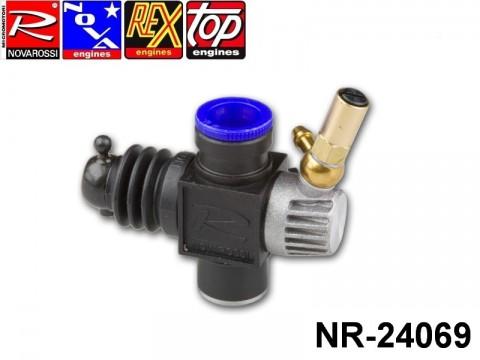 Novarossi NR-24069 Plastic Carburettor 3,5cc 09mm 1adiustment Reverse Slide with Reducer 06mm