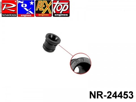 Novarossi NR-24453 Hole Reducer 05,3mm with OR for 2,1-3,5cc