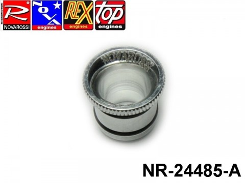 Novarossi NR-24485-A Aluminium Hole Reducer 3,5-4,66cc 08,5mm with OR