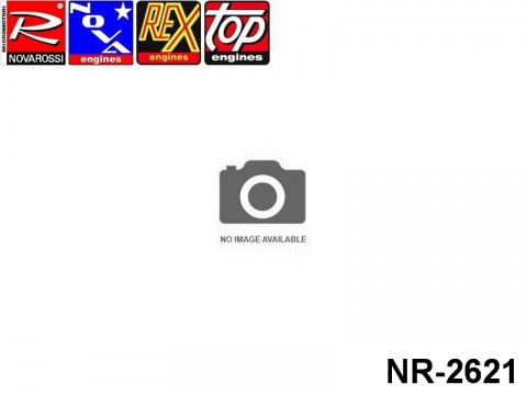 Novarossi NR-2621 On Road-Bike Fucsia Cooling Head 2,1cc Ø45mm 4Cuttings 9Fins Serigraph R