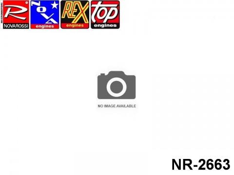 Novarossi NR-2663 On Road Fucsia 2,1cc Cooling Head Ø50mm 6Cuttings 6Fins Serigraph ON ROAD.12PT