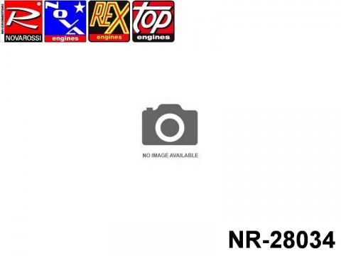 Novarossi NR-28034 Underhead 037,80mm Turbo Glowplug 3,5cc Marine Extra Long Stroke with O'ring 31,42x2,62mm