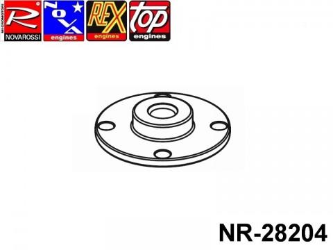 Novarossi NR-28204 Underhead 029mm Turbo Glow Plug 2,5cc Short Stroke On Road Rear Exhaust