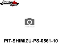 Pit-Shimizu PS-0561 RACING SLICK TIRE, FRONT, SOFT - 10-Pack ( 2 )