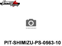 Pit-Shimizu PS-0563 RACING SLICK TIRE, FRONT, MEDIUM - 10-Pack ( 2 )