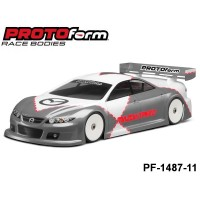 Protoform PF-1487-11 Mazdaspeed6 Light Weight Clear Body for 190mm
