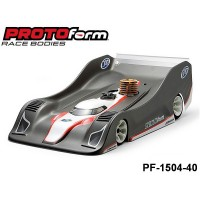 Protoform PF-1504-40 P909 Regular Weight Clear Body for 1:8 On-Road