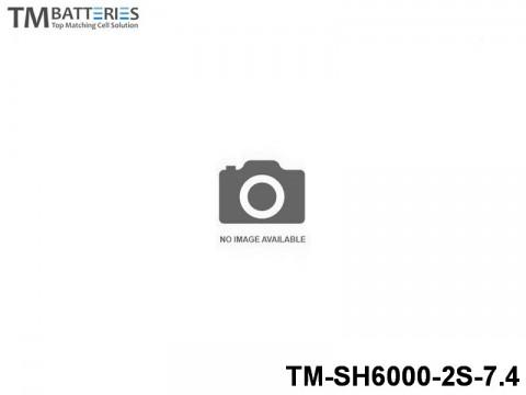 135 TM-Batteries Airplane LIPO TM-SH6000-2S-7.4 2S