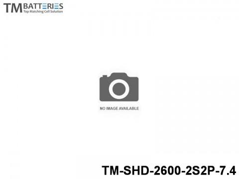 37 TM-Batteries Car LIPO TM-SHD-2600-2S2P-7.4 2S2P