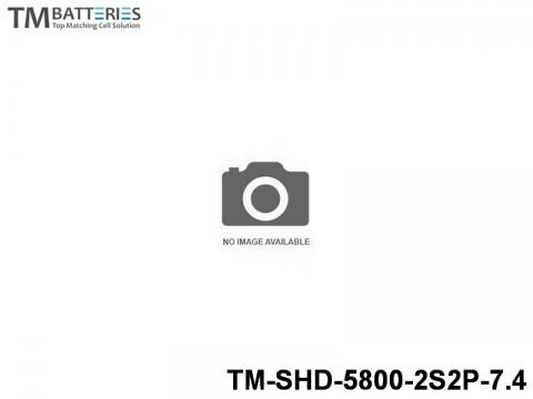 32 TM-Batteries Car LIPO TM-SHD-5800-2S2P-7.4 2S2P