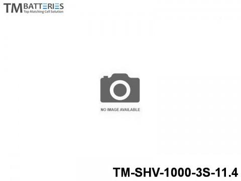 15 TM-Batteries FPV LIPO TM-SHV-1000-3S-11.4 3S