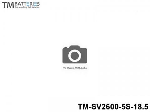 96 TM-Batteries Airplane LIPO TM-SV2600-5S-18.5 5S