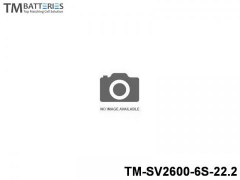 97 TM-Batteries Airplane LIPO TM-SV2600-6S-22.2 6S