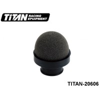 TITAN-20606 Round Racing Air Filter (Fits with 1-8On-Road INS-BOX) Color: Black